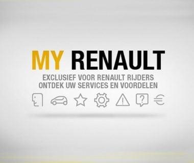My Renault (+) Word nu gratis lid